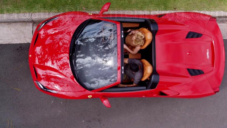Ferrari Red Convertible Sports Car in Magnum P.I. S02E17 TV Series (4)