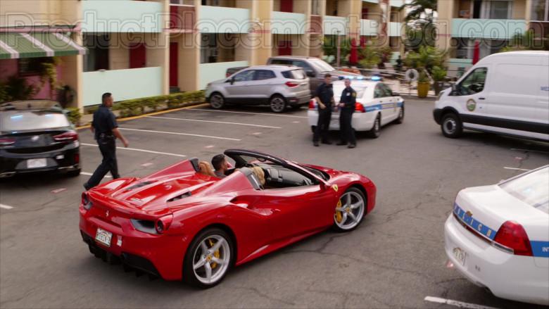 Ferrari Red Convertible Sports Car in Magnum P.I. S02E17 TV Series (8)
