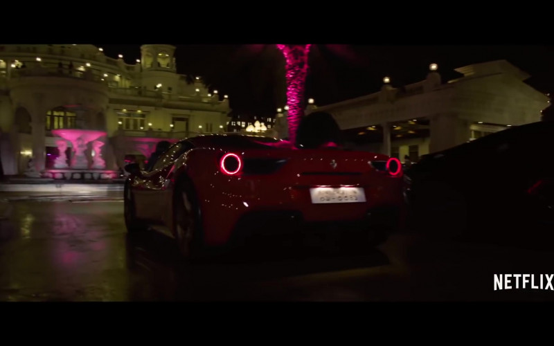 Ferrari Red Sports Car in Extraction (2020)