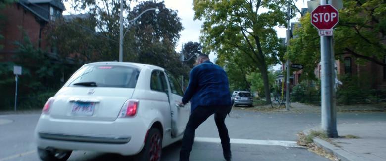 Fiat White Car in My Spy (1)
