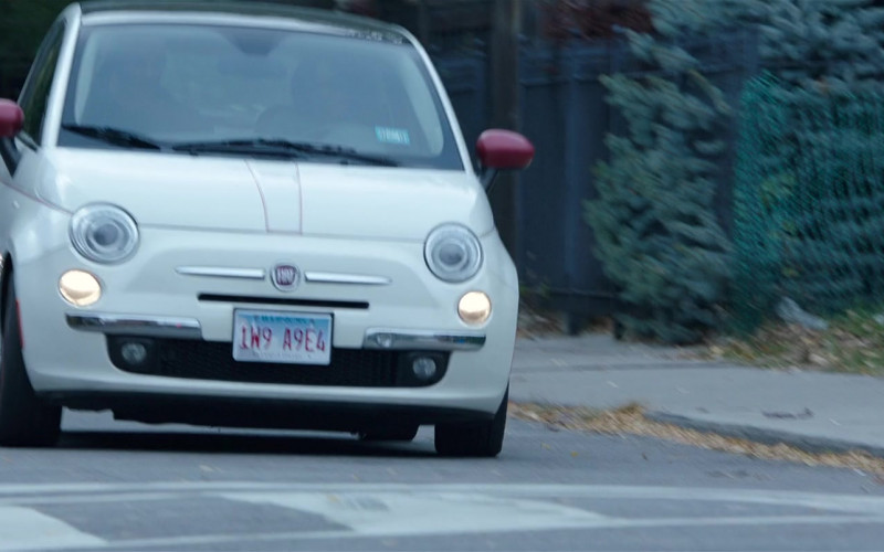 Fiat White Car in My Spy (3)