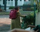 Fjallraven Kanken Red Backpack Used by Brooklynn Prince as Hilde Lisko in Home Before Dark S01E01 (4)