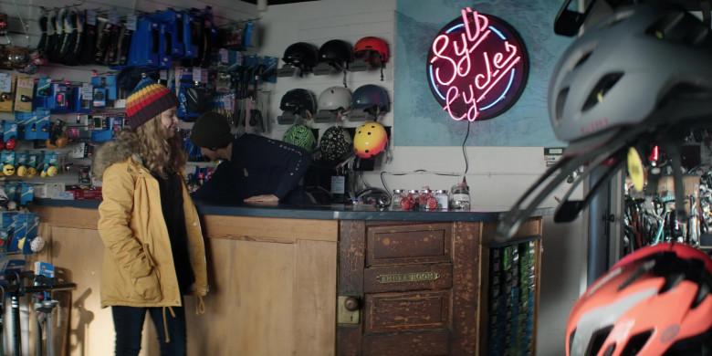 Giro Bike Helmets in Home Before Dark S01E05 The Green Bike (1)