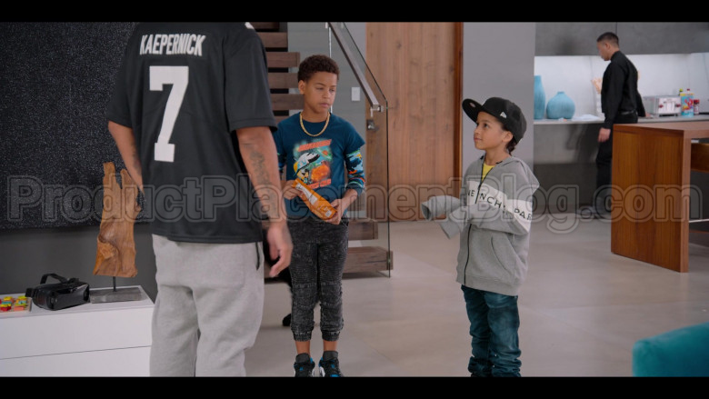 Givenchy Boys Hoodie and New Era Black Cap in #blackAF S01E03 (1)