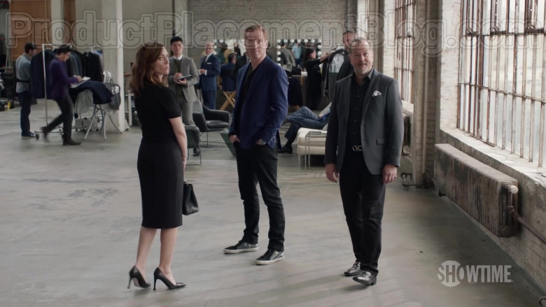 Golden Goose Slide Sneakers of Damian Lewis as Robert 'Bobby' Axelrod in Billions Season 5 (1)