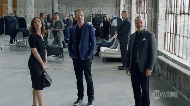 Golden Goose Slide Sneakers of Damian Lewis as Robert 'Bobby' Axelrod in Billions Season 5 (2)
