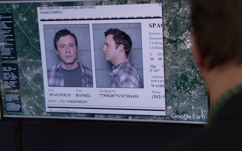 Google Earth in NCIS S17E19 Blarney (2020)