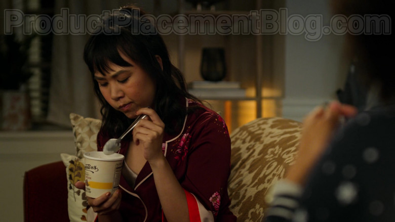 Graeter's Ice Cream Enjoyed by Ramona Young as Eleanor in Never Have I Ever S01E05 (2)