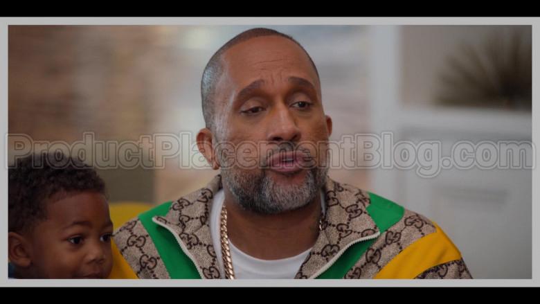 Gucci Jacket of Kenya Barris in #blackAF S01E01 (1)
