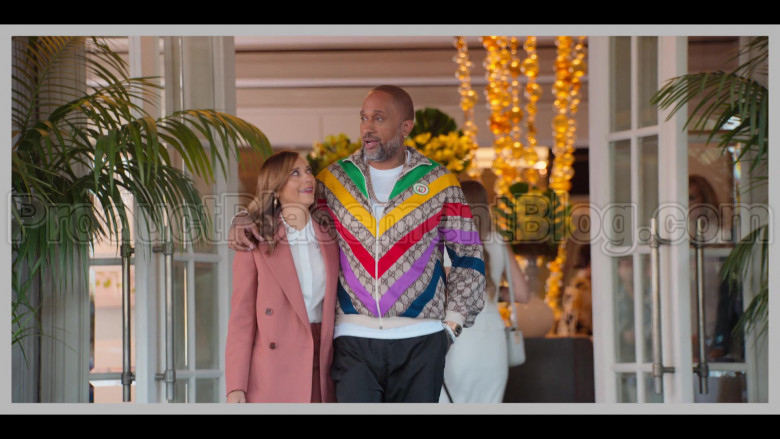 Gucci Jacket of Kenya Barris in #blackAF S01E01 (2)