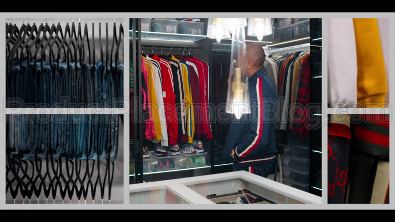 Gucci Jackets and Nike Sneakers in #blackAF S01E01 (2)