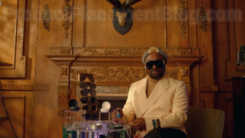 Gucci New Signoria Wool Jacket With Labels of will.i.am in Mamacita by The Black Eyed Peas, Ozuna, J. Rey Soul (1)