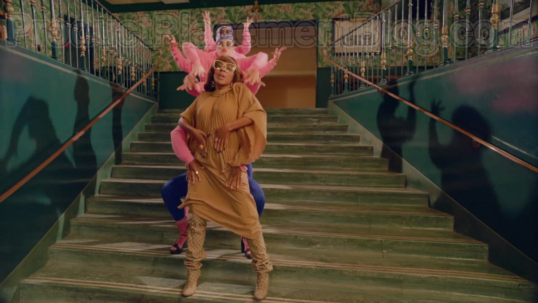 Gucci Shoes of J Rey Soul in Mamacita ft. The Black Eyed Peas & Ozuna (1)