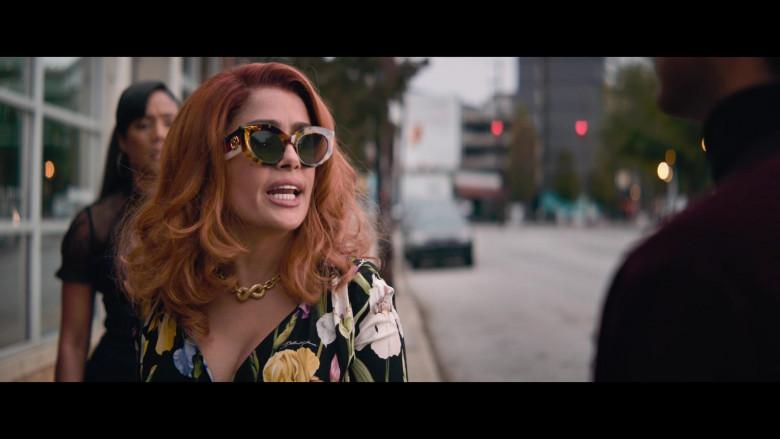 Gucci Sunglasses of Salma Hayek in Like a Boss (1)