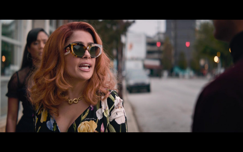 Gucci Sunglasses of Salma Hayek in Like a Boss (1)