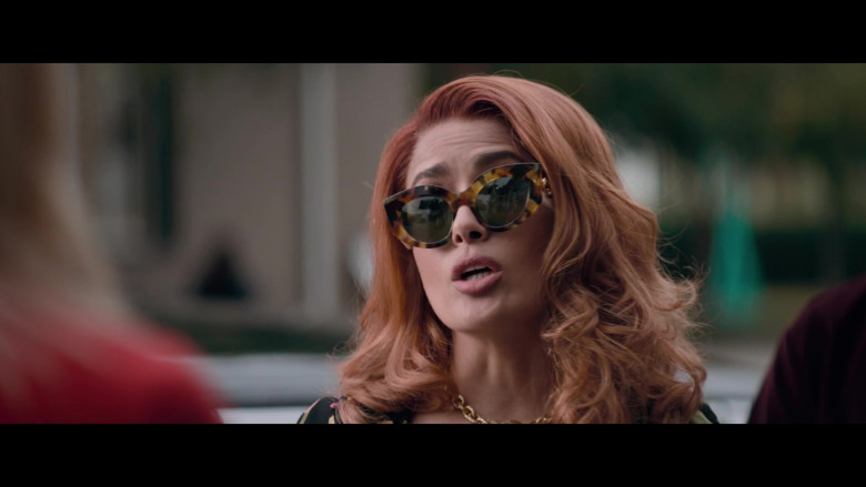 Gucci Sunglasses of Salma Hayek in Like a Boss (3)