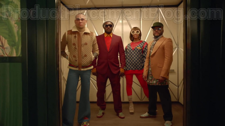 Gucci Sweatshirt Worn by J Rey Soul in Mamacita feat. The Black Eyed Peas and Ozuna (3)