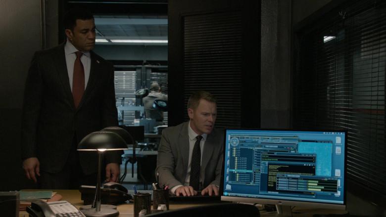 HP Computer Monitors in The Blacklist S07E13 Newton Purcell (2)
