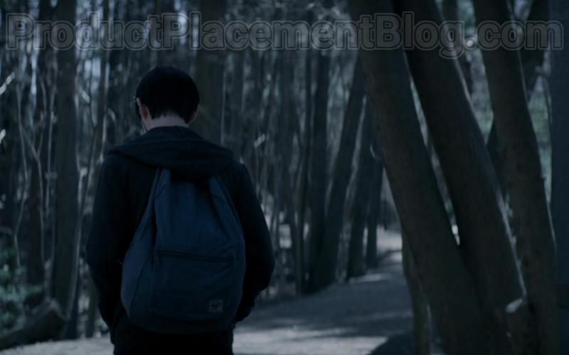 Herschel Blue Backpack of Jaeden Martell as Jacob Barber in Defending Jacob S01E01 Pilot (2020)