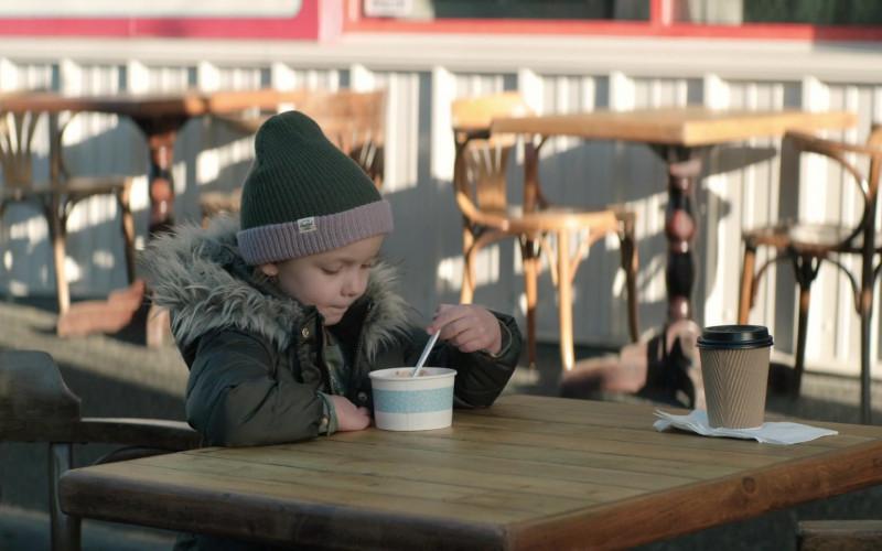 Herschel Supply Co. Beanie Hat Worn by Mila Morgan as Ginny in Home Before Dark S01E02