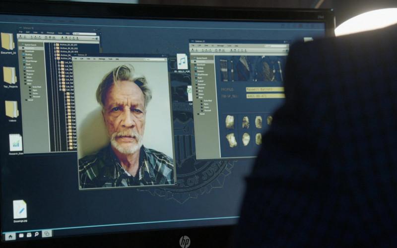Hewlett-Packard Monitor in The Blacklist S07E14