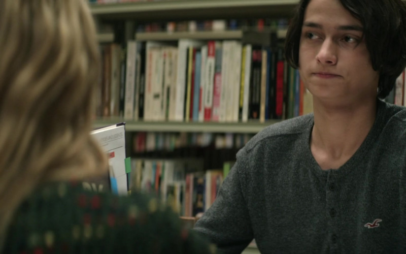 Hollister Jumper Worn by Rio Mangini as Ethan in Home Before Dark S01E02