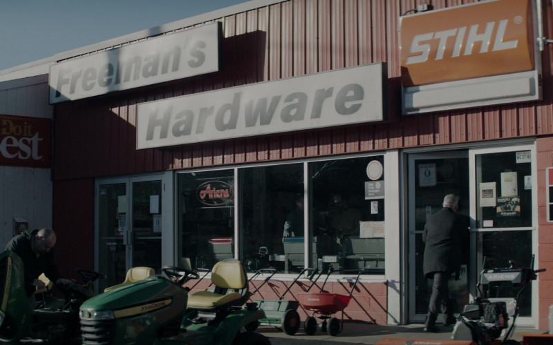 Interstate Batteries, John Deere, Stihl, Search Results Benjamin Moore and Honda Signs in Defending Jacob S01E02