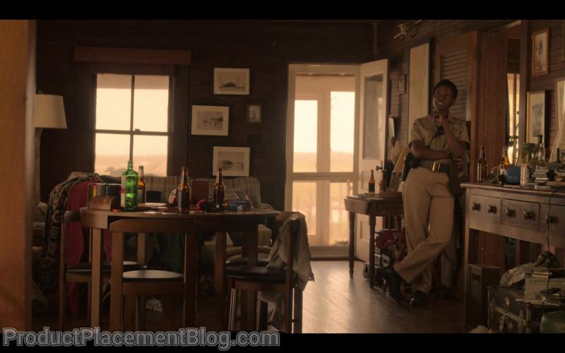 Jägermeister and Bud Light Bottles in Outer Banks S01E01 Pilot (1)