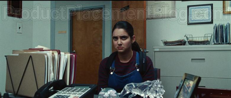 JanSport Backpack of Geraldine Viswanathan as Rachel Bhargava in Bad Education (1)