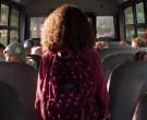 Jansport Backpack of Chloe Coleman as Sophie in My Spy (1)