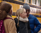 Jansport Backpack of Chloe Coleman as Sophie in My Spy (2)