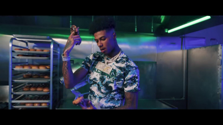 Kenzo T-Shirt in Holy Moly by Blueface ft. NLE Choppa (2)