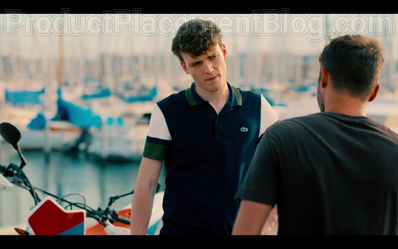 Lacoste Men's Polo Shirt in Summertime S01E02 Just You & I (1)