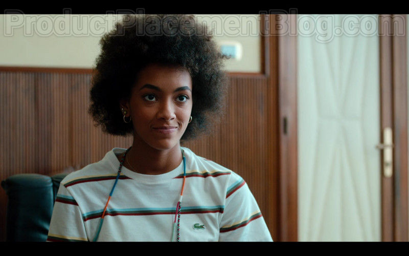 Lacoste Tee of Rebecca Coco Edogamhe in Summertime S01E01 I Hate Summer (2020)