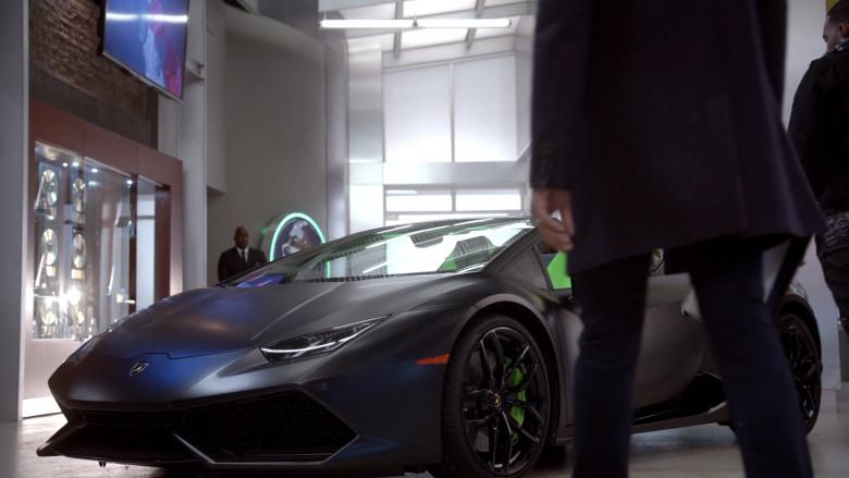 Lamborghini Huracan Grey Convertible Sports Car in Empire S06E15 – 2020 (2)