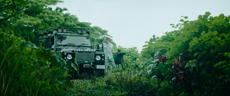 Land Rover Defender Car in Fantasy Island