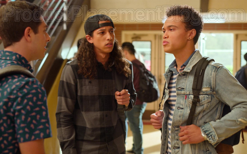Levi's Denim Jacket of Dana Vaughns as Marcus in Never Have I Ever S01E06