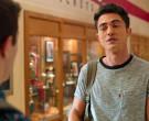 Levi's Grey T-Shirt of Darren Barnet as Paxton Hall-Yoshida ...