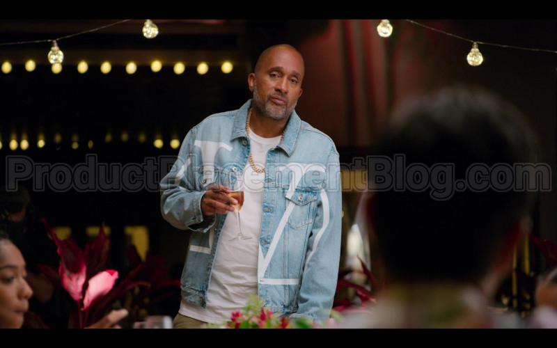 Louis Vuitton Denim Jacket of Kenya Barris in #blackAF S01E07