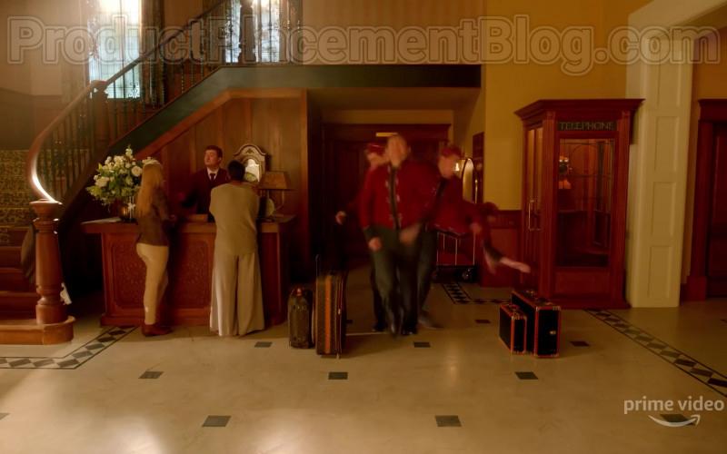 Louis Vuitton Luggage in Upload Season 1 (2020)
