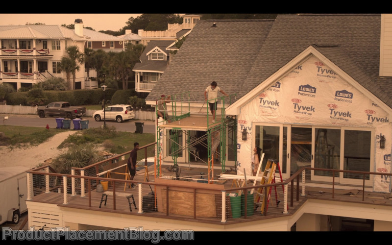 Lowe's, Dupont Tyvek Home Wrap in Outer Banks S01E01 (1)