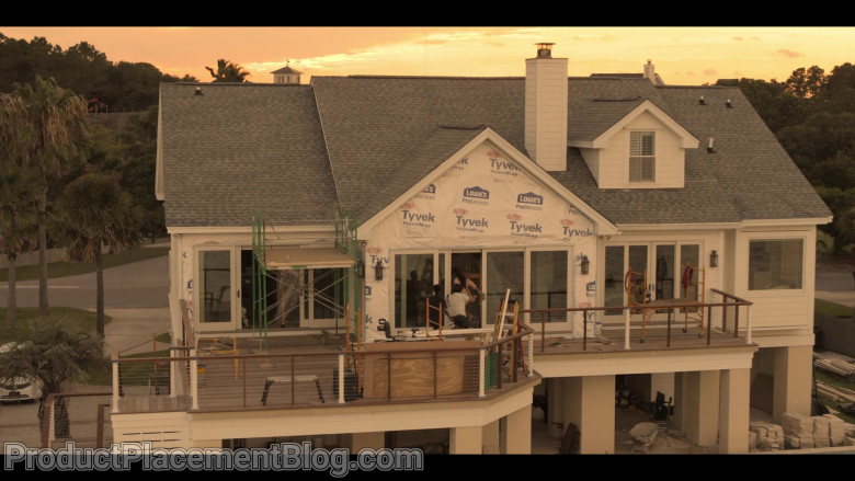 Lowe's, Dupont Tyvek Home Wrap in Outer Banks S01E01 (2)