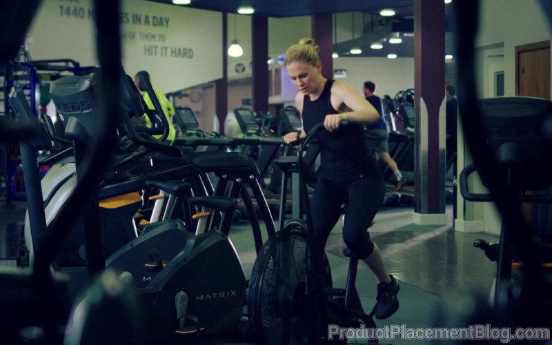 Matrix Fitness Gym Equipment in Flack S02E01