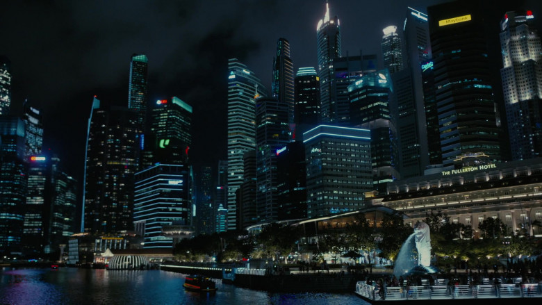 Maybank Bank and The Fullerton Hotel in Westworld S03E04