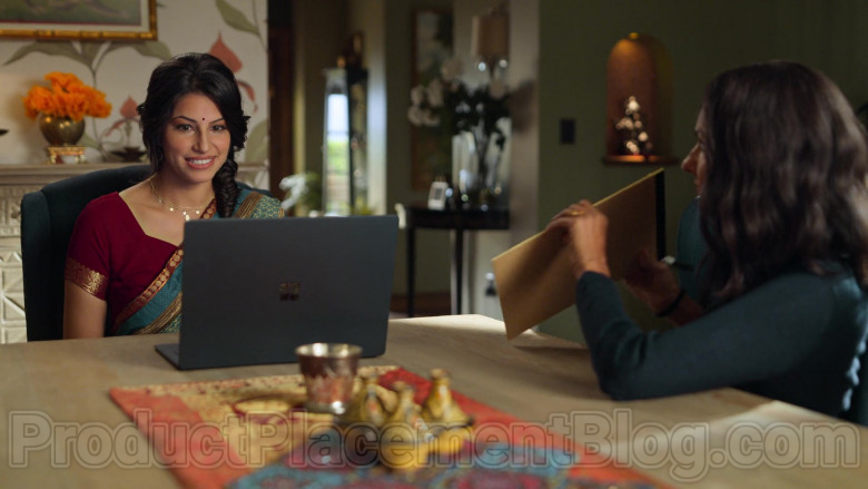 Microsoft Surface Laptop Used by Richa Moorjani & Poorna Jagannathan in Never Have I Ever S01E02 (1)