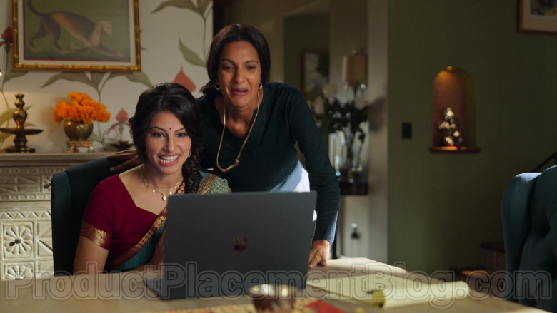 Microsoft Surface Laptop Used by Richa Moorjani & Poorna Jagannathan in Never Have I Ever S01E02 (2)