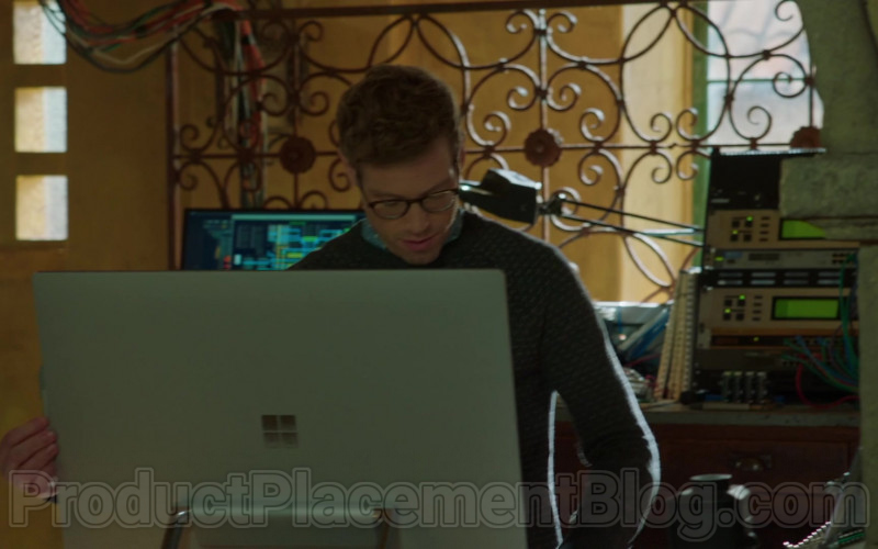 Microsoft Surface Studio All-In-One Computer Used by Barrett Foa as Technical Operator Eric Beale (1)