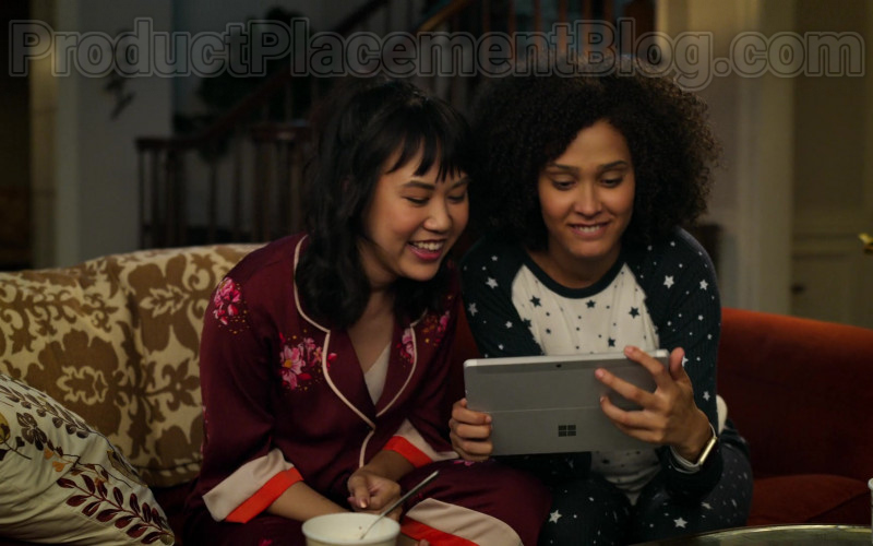 Microsoft Surface Tablet Used by Lee Rodriguez & Ramona Young in Never Have I Ever S01E05