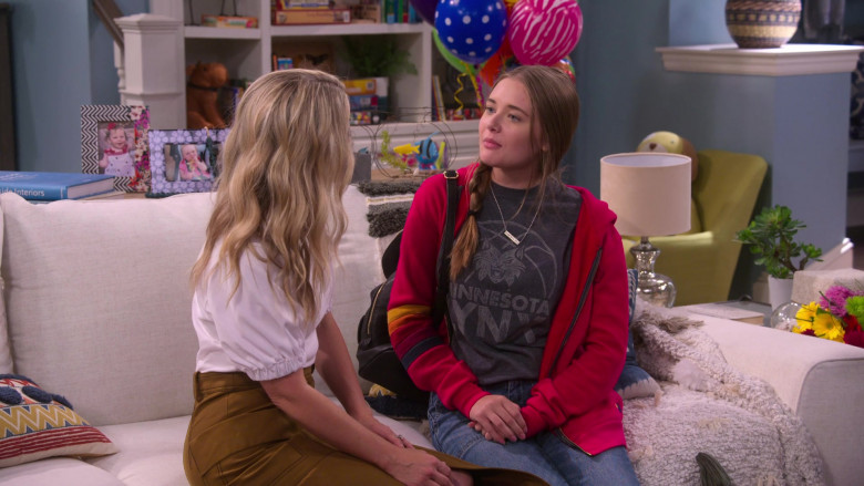 Minnesota Lynx Tee Worn by Reylynn Caster as Lola in The Big Show Show S01E01 (1)
