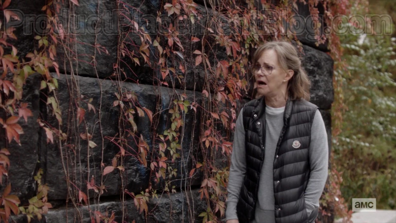 Moncler Vest of Sally Field as Janice in Dispatches from Elsewhere S01E09 (1)